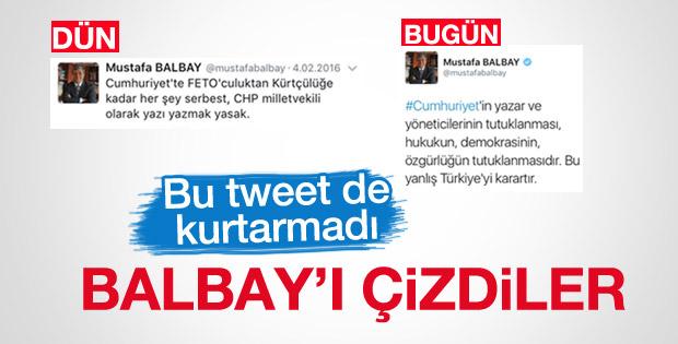 Cumhuriyet'ten Mustafa Balbay'a tepki