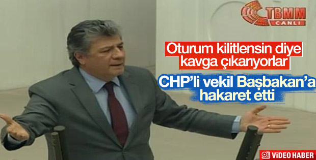 CHP'li Balbay'dan Başbakan'a hakaret