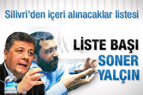 Balbay'ın içeri alınacak gazeteciler listesi