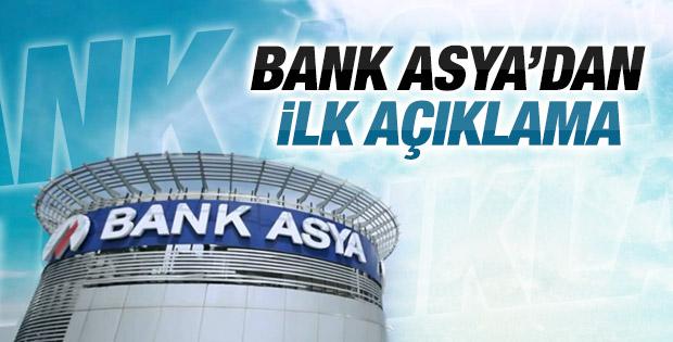 Bank Asya'dan TMSF kararıyla ilgili açıklama