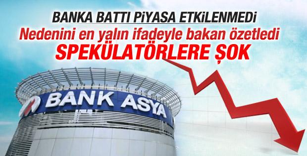 Nihat Zeybekci'den Bank Asya ile ilgili açıklama