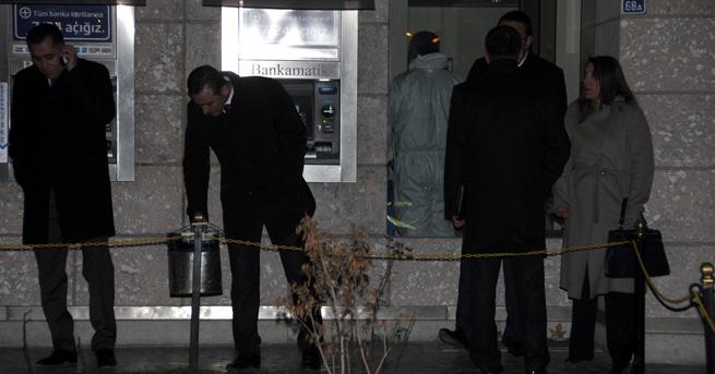 Kayseri'de bankayı soyan hırsızın kalbi dayanmadı
