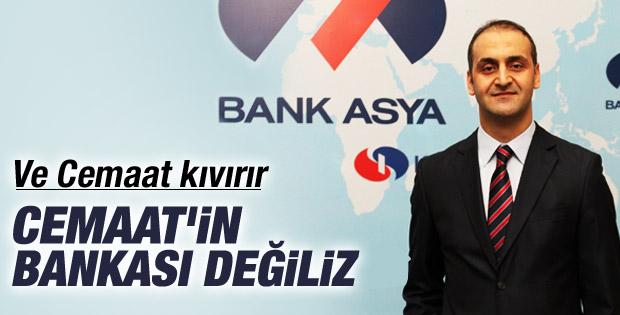 Bank Asya: Cemaat'in bankası değiliz