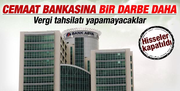 Bank Asya vergi tahsilatı yapamayacak