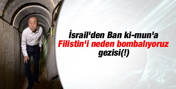 Ban Ki-mun Hamas tüneline girdi