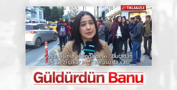 Banu Güven'in Gezi hayali