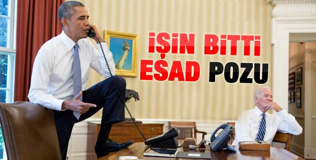 Barack Obama'nın Suriye pozu