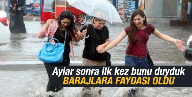 İBB İstanbul'daki yağışla ilgili açıklama yaptı