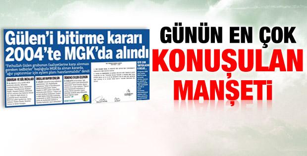 Baransu: Gülen'i bitirme kararı 2004'te MGK'da alındı  - izle