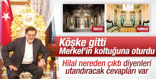 Murat Bardakçı Mabeyn Köşkü'ndeki koltukları yazdı