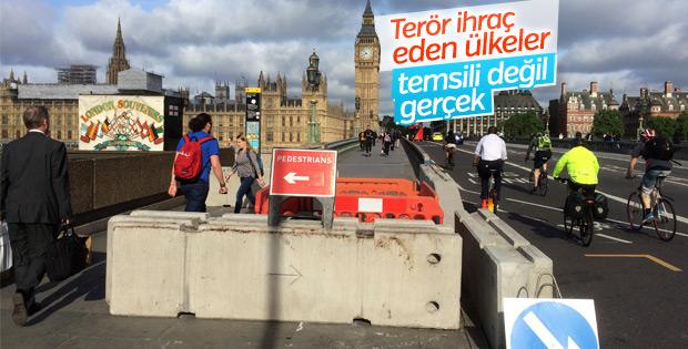 Londra Köprüsü'nde barikat kuruldu