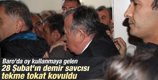 Nuh Mete Yüksel'e Ankara Barosu'nda yumruklu saldırı
