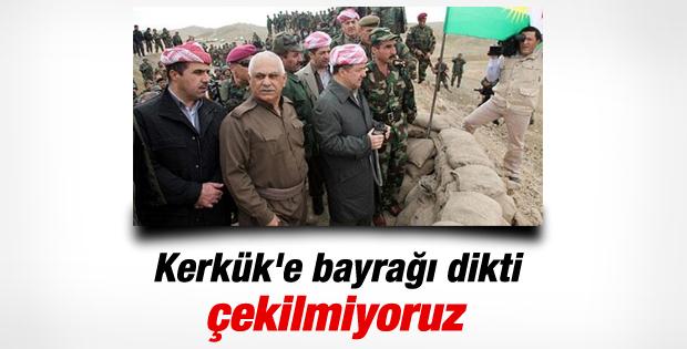 Mesut Barzani: O bölgelerden çekilmeyiz