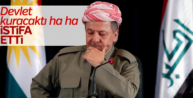 Barzani istifa etti