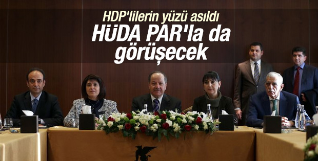 Barzani HDP heyeti ile bir araya geldi