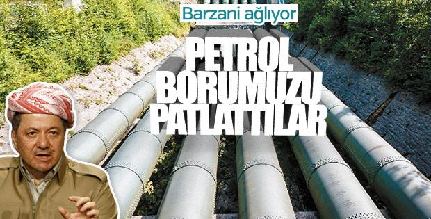 Barzani'nin 'petrolüm çalınıyor' korkusu