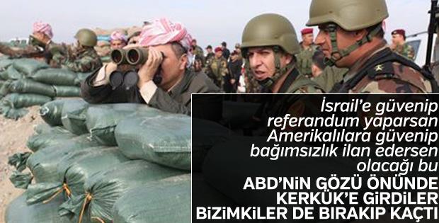 Barzani, ABD'nin sessiz kalmasından rahatsız