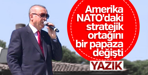 Başkan Erdoğan, Ordu'dan Amerika'ya seslendi