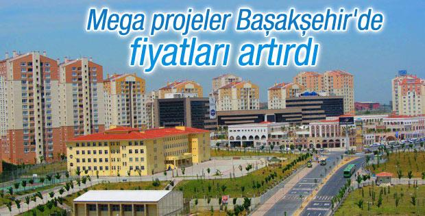 Başakşehir mega projelerle yükseliyor