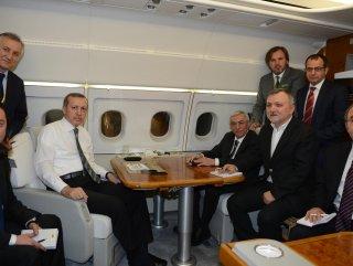 Başbakan Berlin dönüşü uçakta konuştu