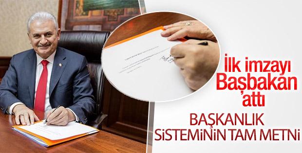 Anayasa teklifinin ayrıntıları