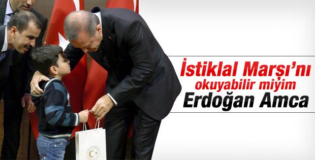Başbakan Erdoğan dünya çocuklarıyla bir araya geldi İZLE