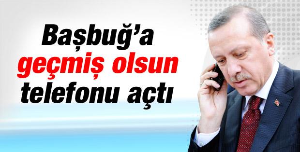 Başbakan Erdoğan İlker Başbuğ'u aradı