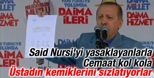 Başbakan Erdoğan: Said Nursi'nin kemikleri sızlıyordur