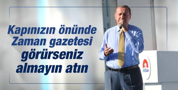 Başbakan Erdoğan'ın Tokat mitingi