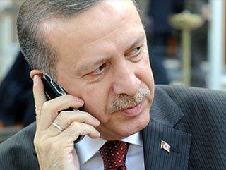 Başbakan Erdoğan'ın yoğun telefon trafiği