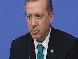 Erdoğan Başbakanlık'ta konuştu
