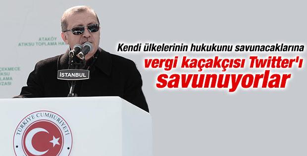 Başbakan Erdoğan'ın Arıtma Tesisi açılış töreni konuşması