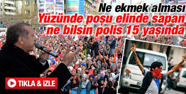 Başbakan Erdoğan'ın Gaziantep mitingi konuşması