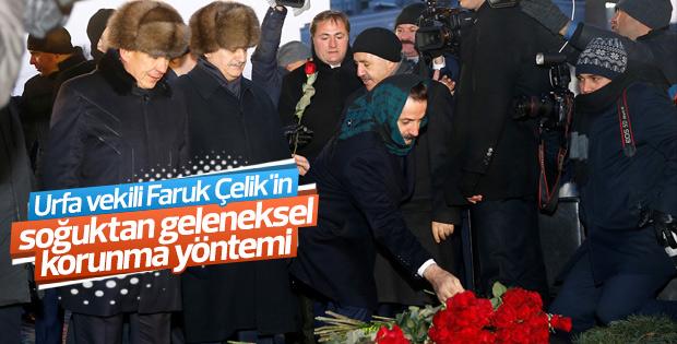 Başbakan Yıldırım Tataristan'da anıt açılışına katıldı