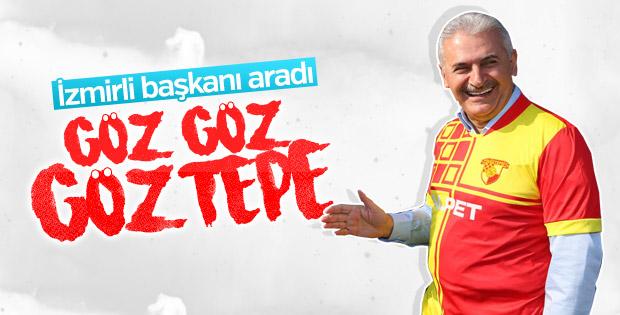 Başbakan Yıldırım Göztepe'yi kutladı