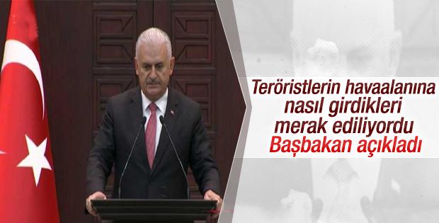 Başbakan: Güvenlikten geçemeyince silahlarla ateş ettiler