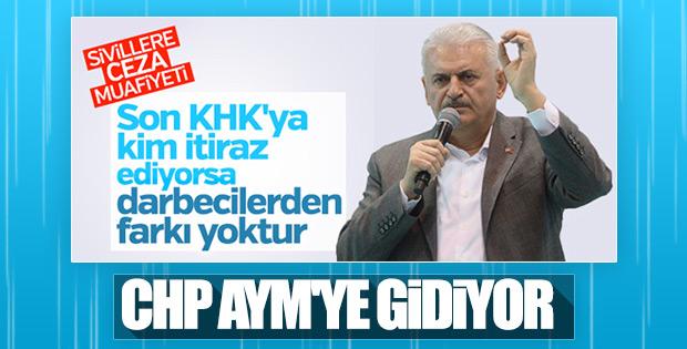 CHP, KHK'lar için AYM'ye başvuracak