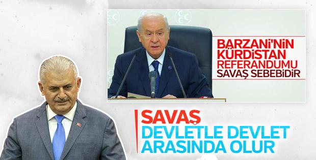 Başbakan Bahçeli'nin savaş çağrısını değerlendirdi