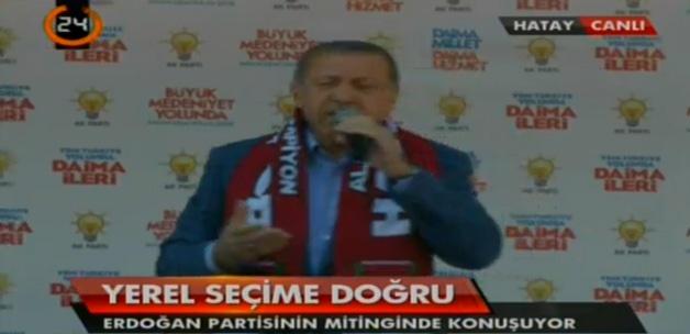 Başbakan Erdoğan'ın Hatay mitingi konuşması İZLE