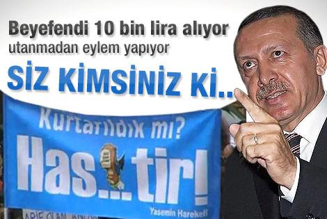 Başbakan Erdoğan KKTC'deki pankartlara çok kızdı