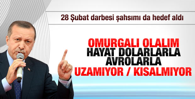 Başbakan Erdoğan MÜSİAD'ın iftarında konuştu