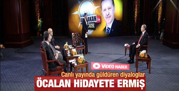 Başbakan Erdoğan: Öcalan'a verdiğim vereceğim budur