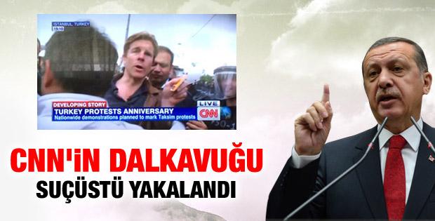 Başbakan'dan CNN muhabirine: Dalkavuk suçüstü yakalandı İZLE