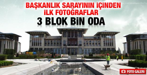 Yeni Başbakanlık binasının içinden ilk görüntüler