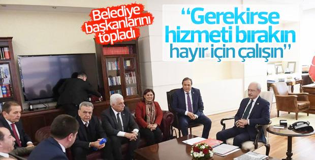 Kılıçdaroğlu'ndan belediye başkanlarına referandum görevi