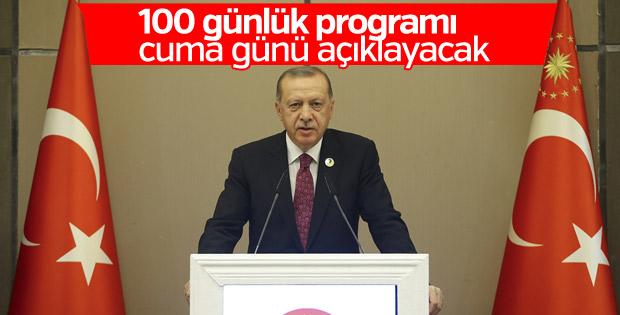 Başkan, 100 günlük icraat programını cuma açıklayacak