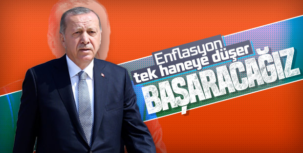 Başkan Erdoğan'ın Türkiye ekonomisine güveni tam