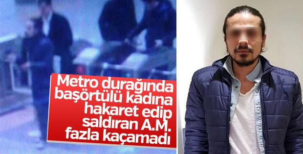 Kadıköy'de başörtülü kadına saldıran zanlı yakalandı