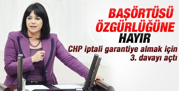 CHP'li Canan Yüceer'den başörtüsüne iptal davası