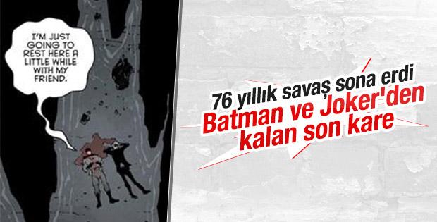 Batman ve Joker öldü